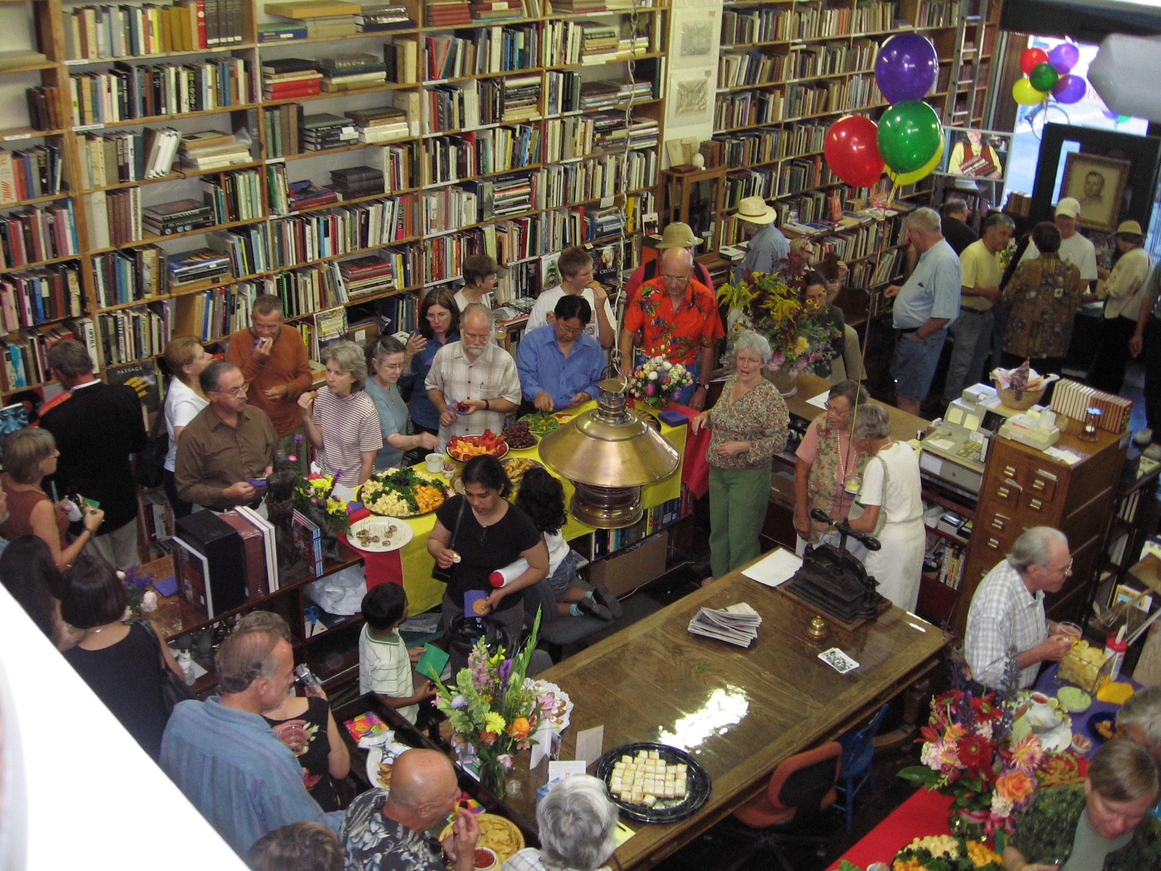 Bell's Books 75th Festivities